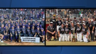 LaGrange Keystone, Perry Massillon state softball champs