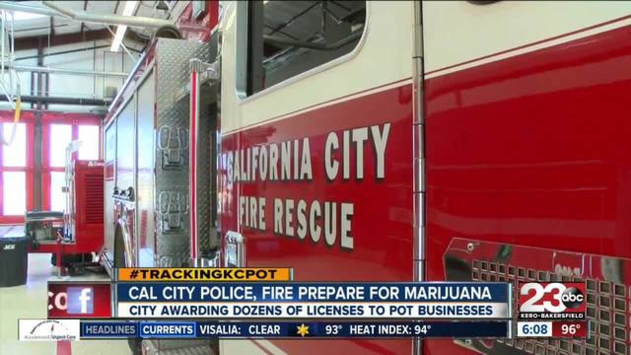 Cal City gearing up for marijuana industry