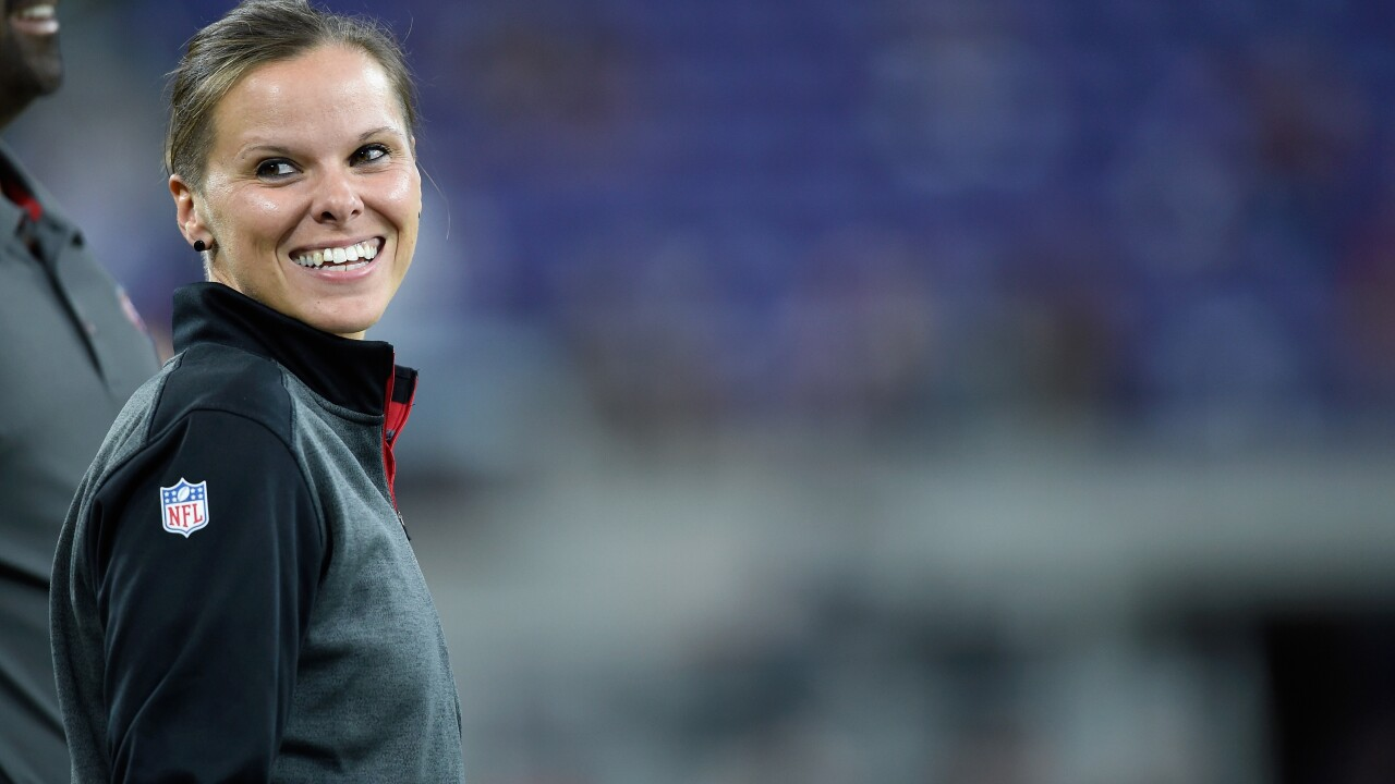 49ers' Katie Sowers to become first woman, openly gay person to coach in Super Bowl