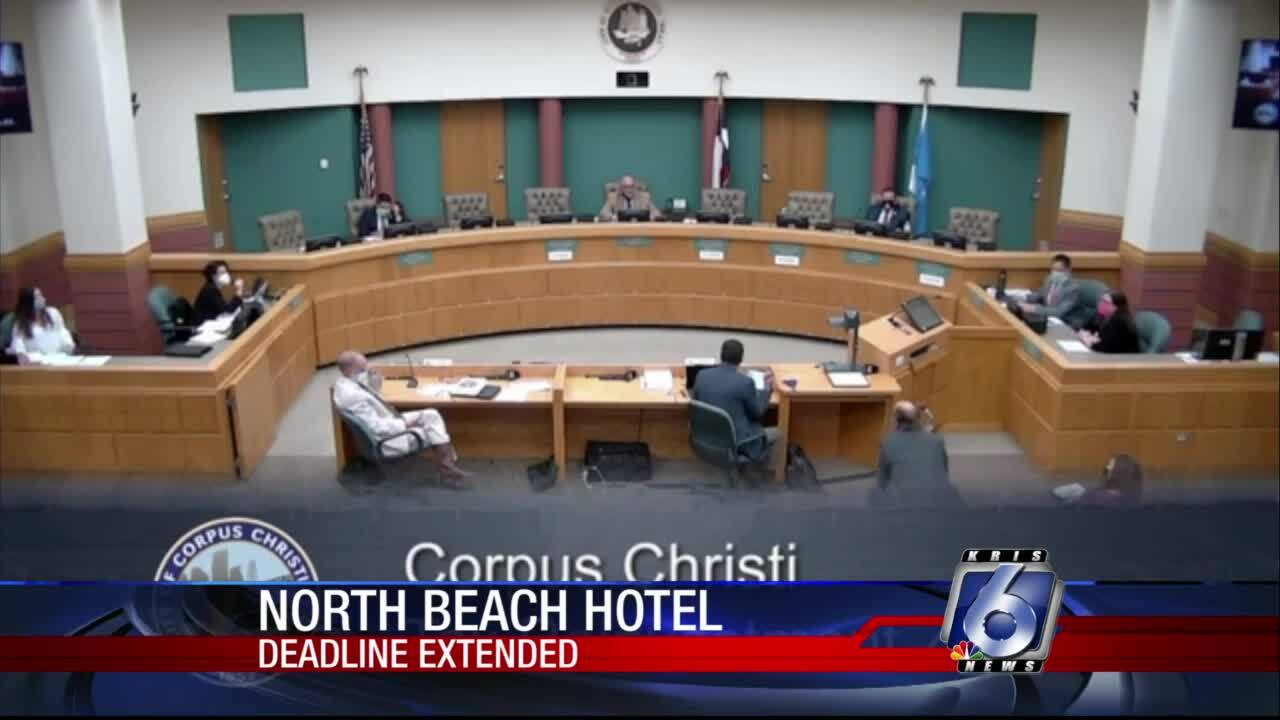 Council extends deadline for upscale North Beach hotel
