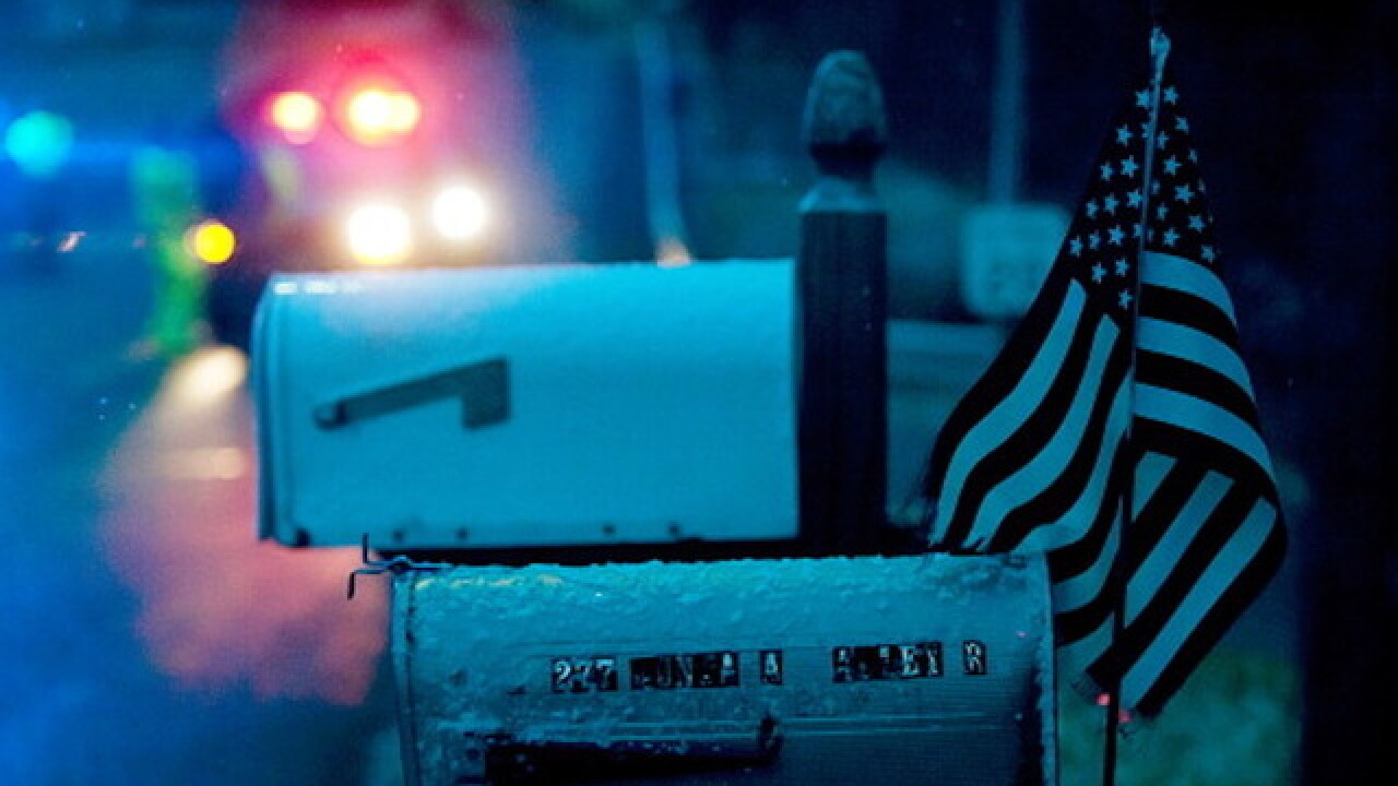 Homeowner's association tells Florida vet to remove American flag wrap from mailbox or face fine
