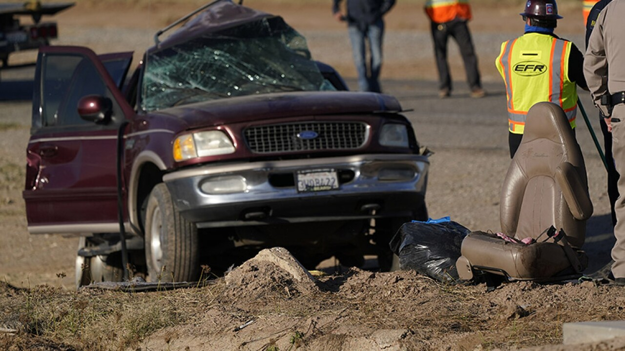 California Highway Crash Imperial County Holtville SUV