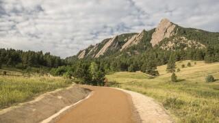Chautauqua Trail repairs