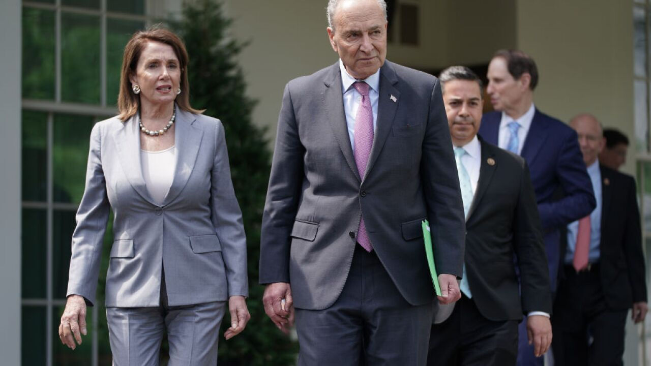 Pelosi, Schumer head to White House for infrastructure talks