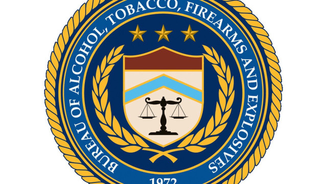 ATF offers reward for information on gun theft in Jackson County
