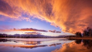 lars leber photography prospect lake sunset 2.27.2020
