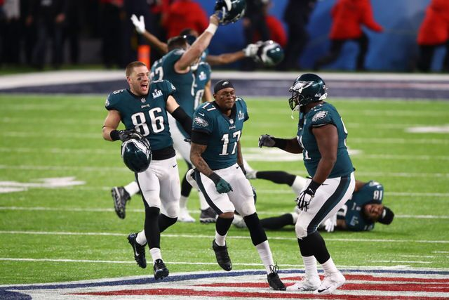 Photos: The Eagles celebrate their first Super Bowl title