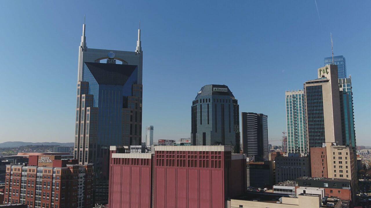 Nashville skyine