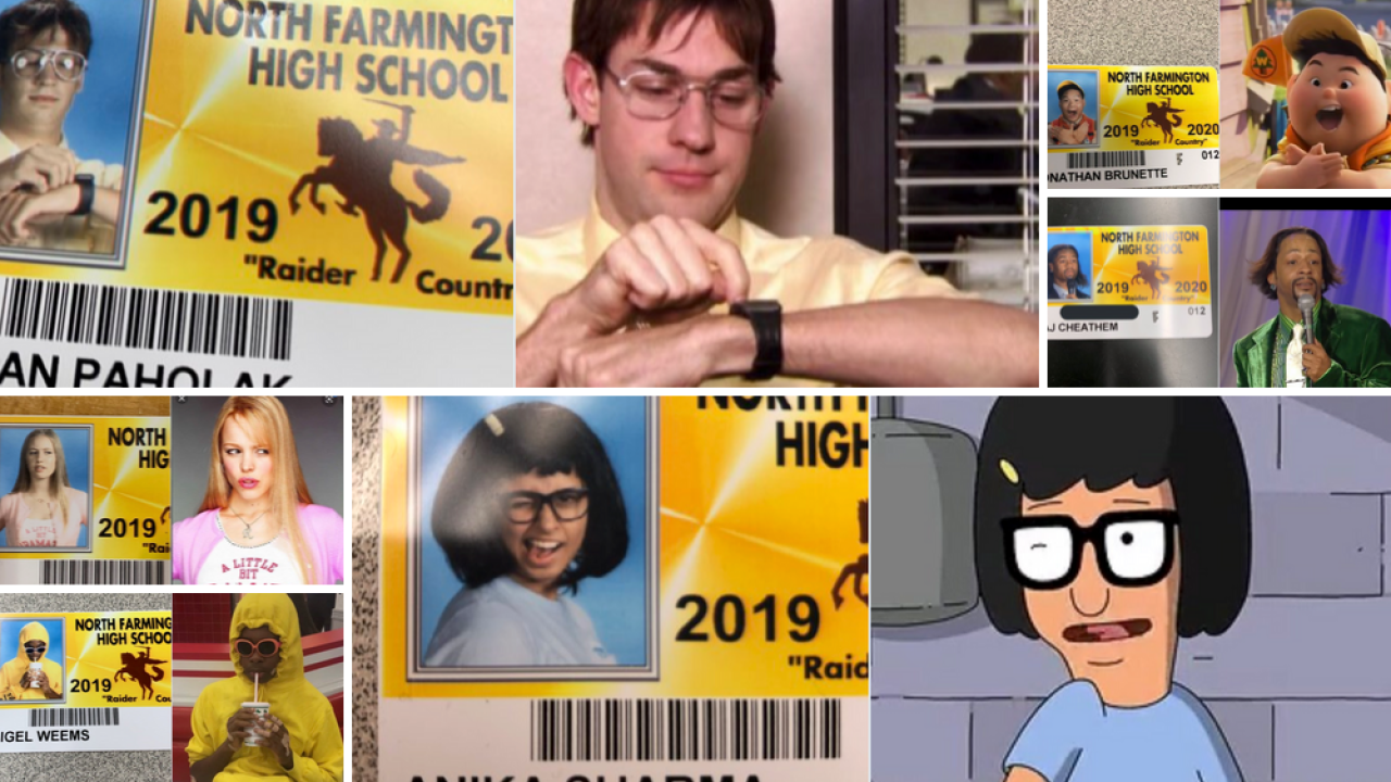 Seniors at this high school go all out for their student IDs. The Class of 2020 didn't disappoint.
