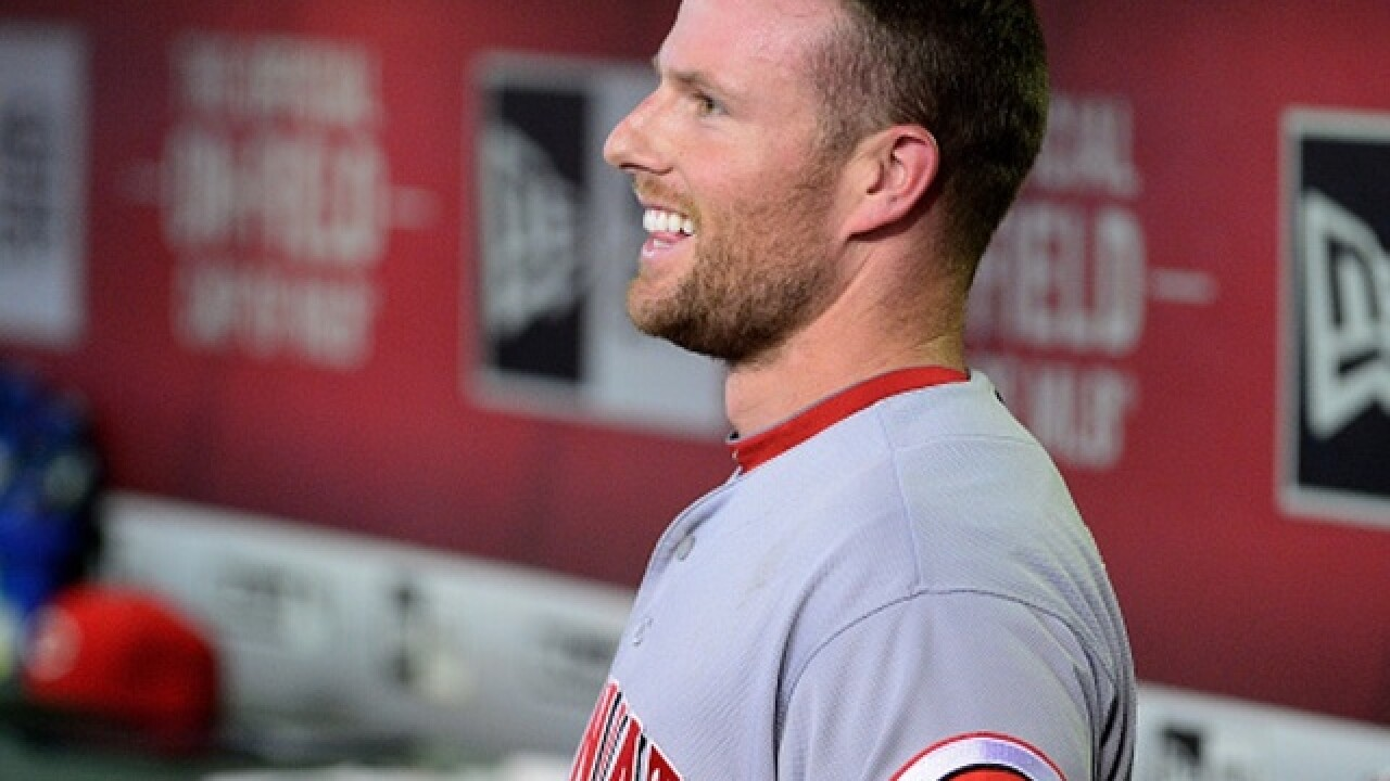 Reds' Cozart to start shortstop in All-Star game