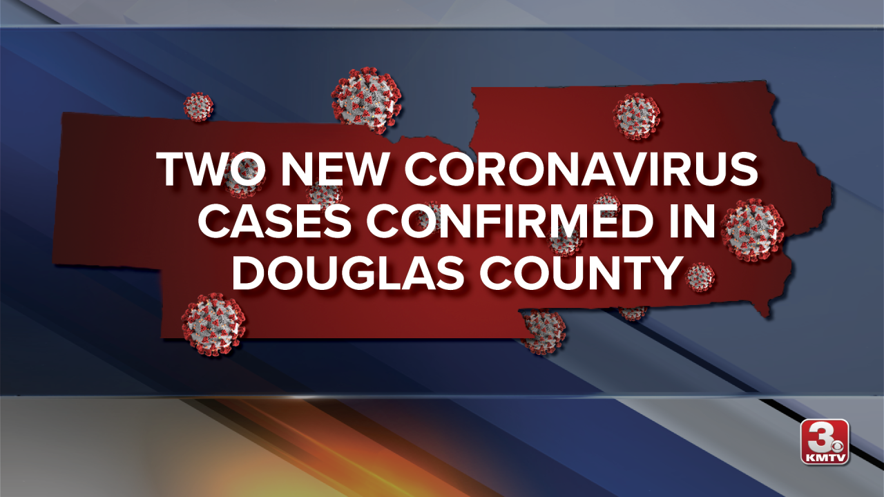 DOUGLAS COUNTY TWO NEW CASES