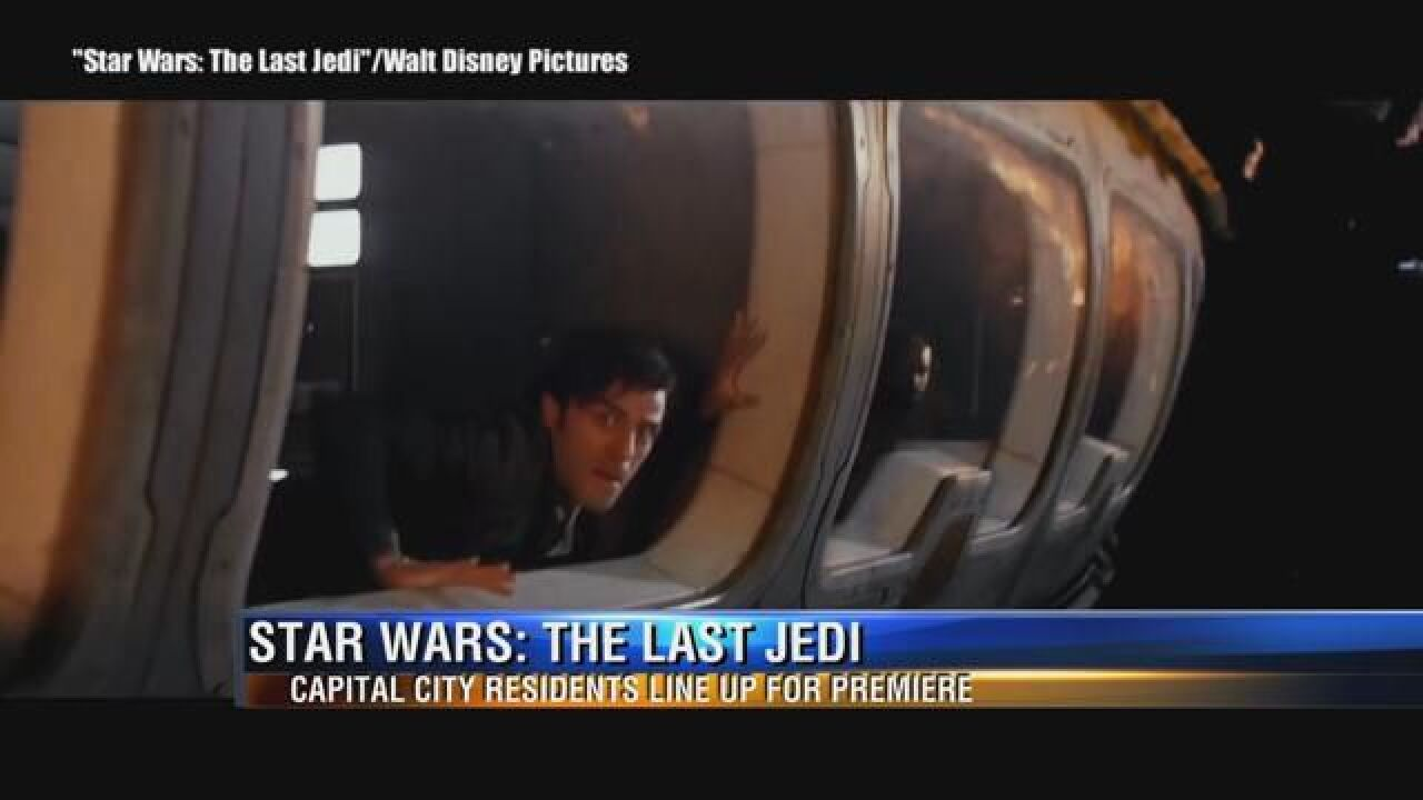Star Wars: The Last Jedi draws fans, but some aren't happy