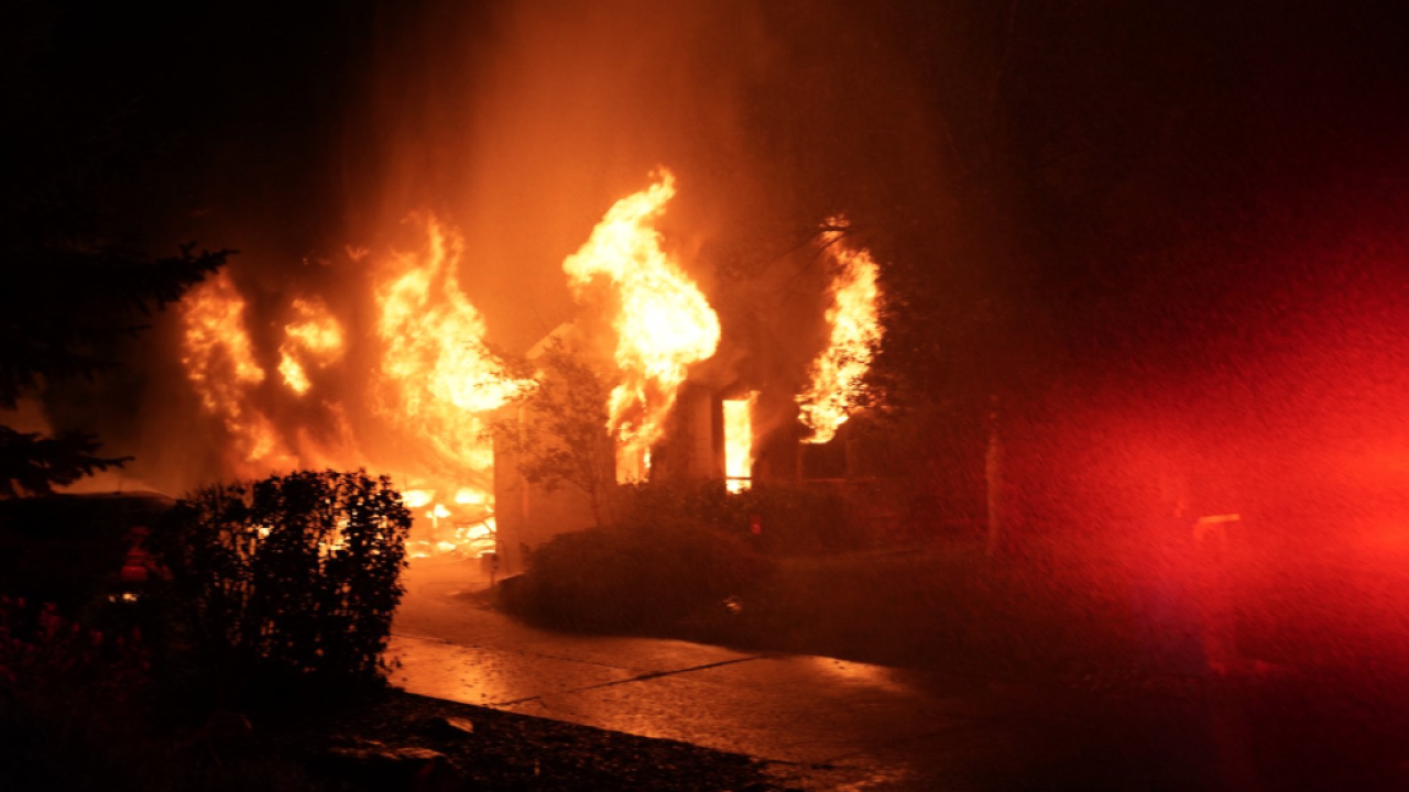 South Metro Fire Rescue at Arapahoe County house fire July 1 2019 2