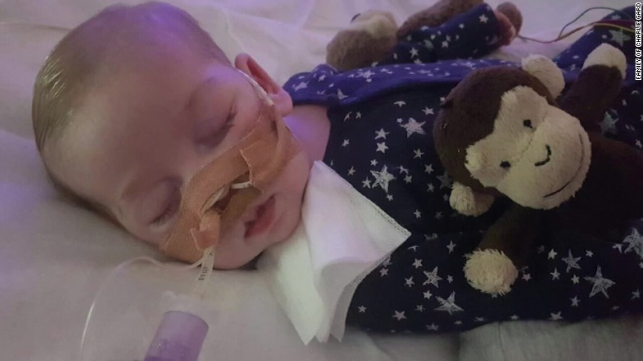 Baby Charlie Gard dies after life supportwithdrawn