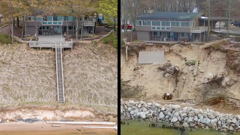 Shoreline erosion 122019