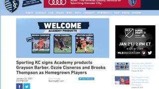 Sporting Kansas City homegrown players