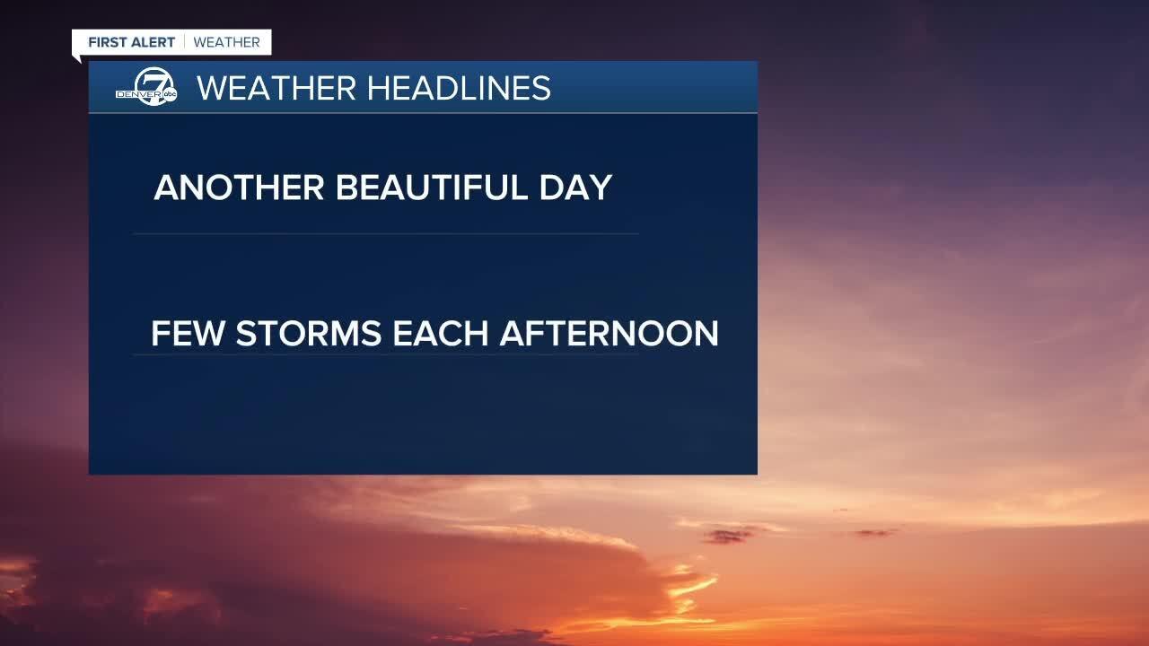 June 23 2020 5:15 a.m. forecast