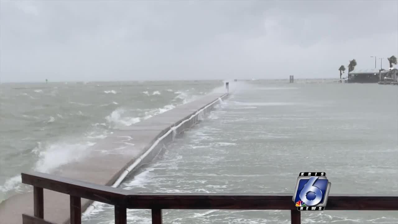 Hurricane Hanna storm surge