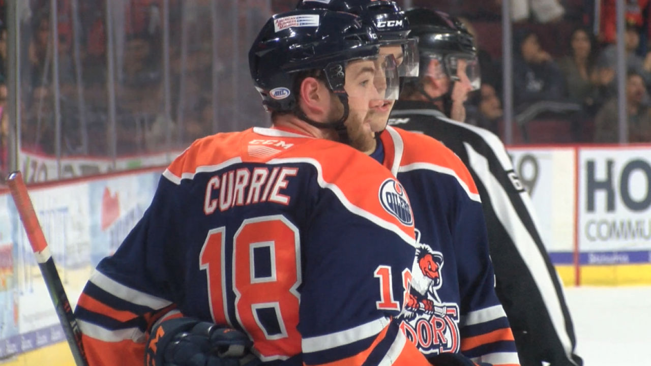 Josh Currie had hat trick against Roadrunners