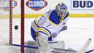 Luukkonen makes 38 saves as Sabres fall to Rangers 3-1