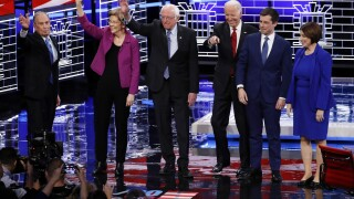 Gloves come off at Democratic debate as the field targets Sanders, Bloomberg