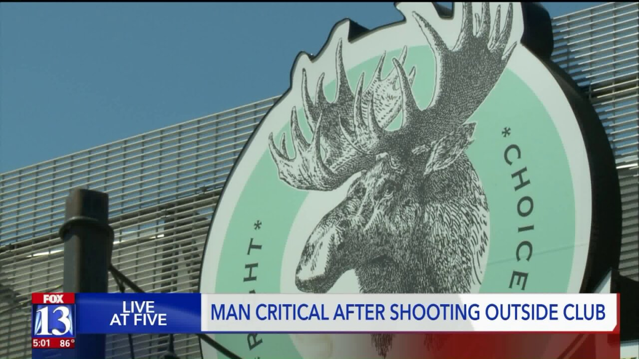 Man in critical condition after shooting outside of Moose Lounge, saidpolice