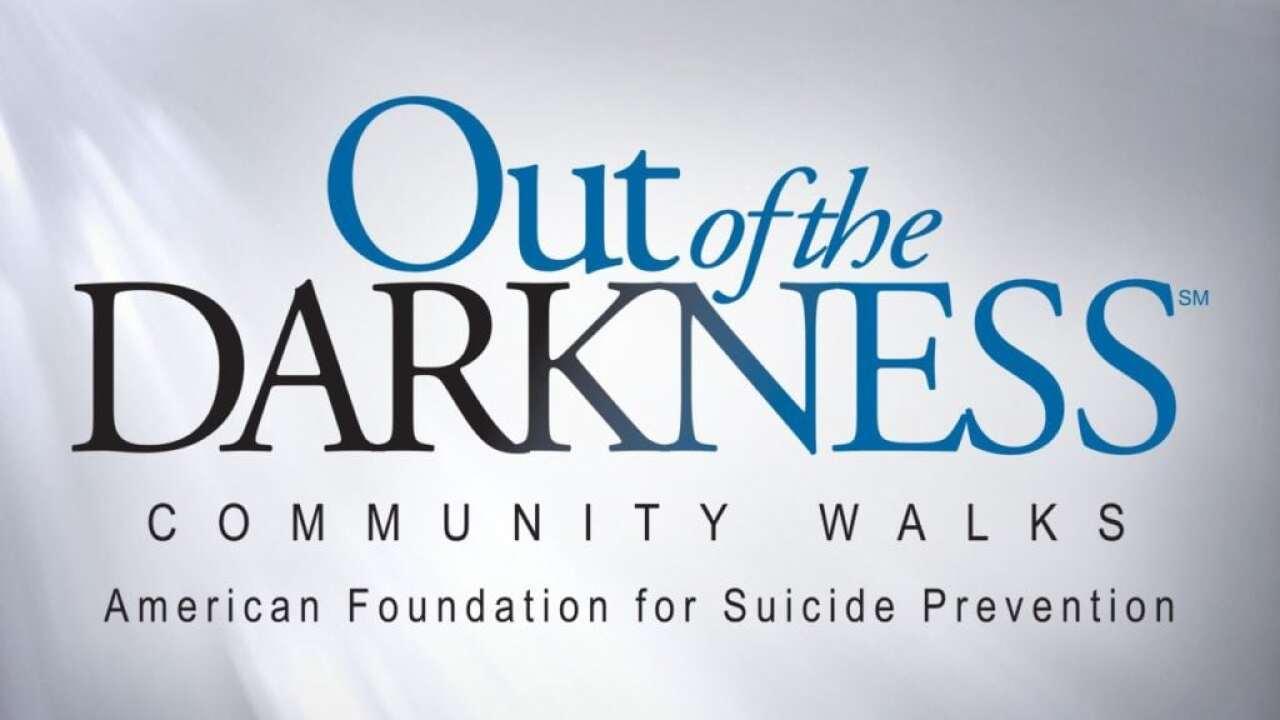 Suicide prevention walk planned for November