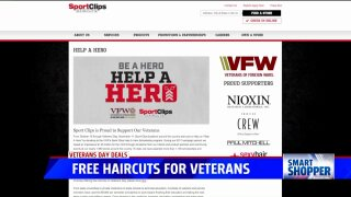 Smart Shopper: Veterans Day freebies and discounts