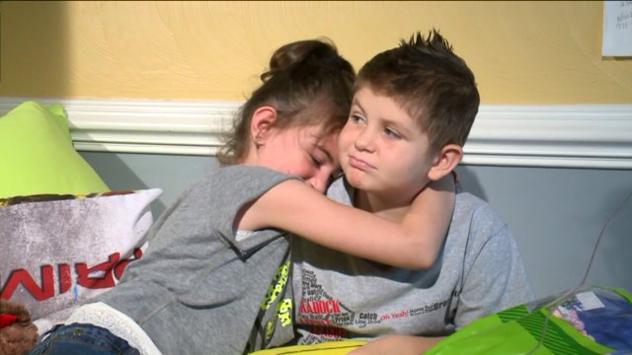Dying Chesapeake 8-year-old finds his true love