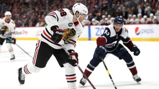 Chicago Blackhawks v Colorado Avalanche