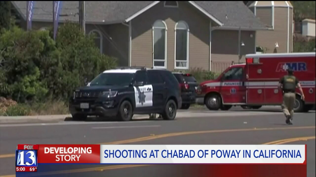 One dead, three injured in shooting at synagogue near San Diego; 19-year-old suspectidentified