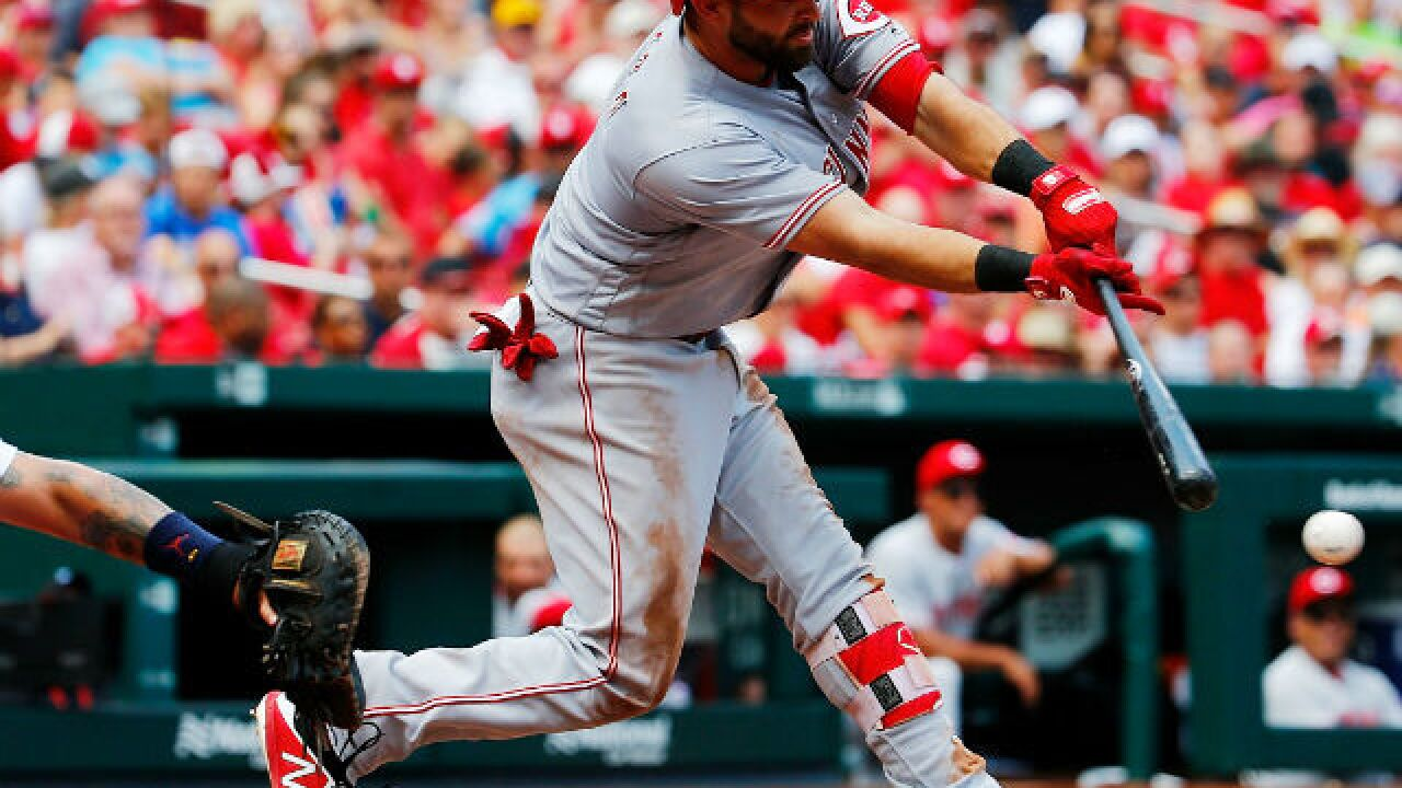 Jose Peraza sets Reds record, but Anthony DeSclafani goes 'loopy' in loss to Cardinals