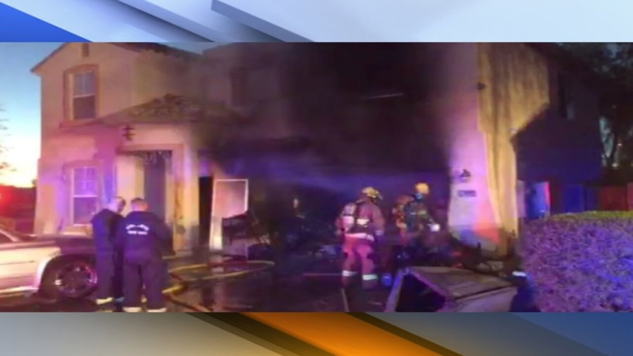Neighbor alerts family to fire in Tolleson