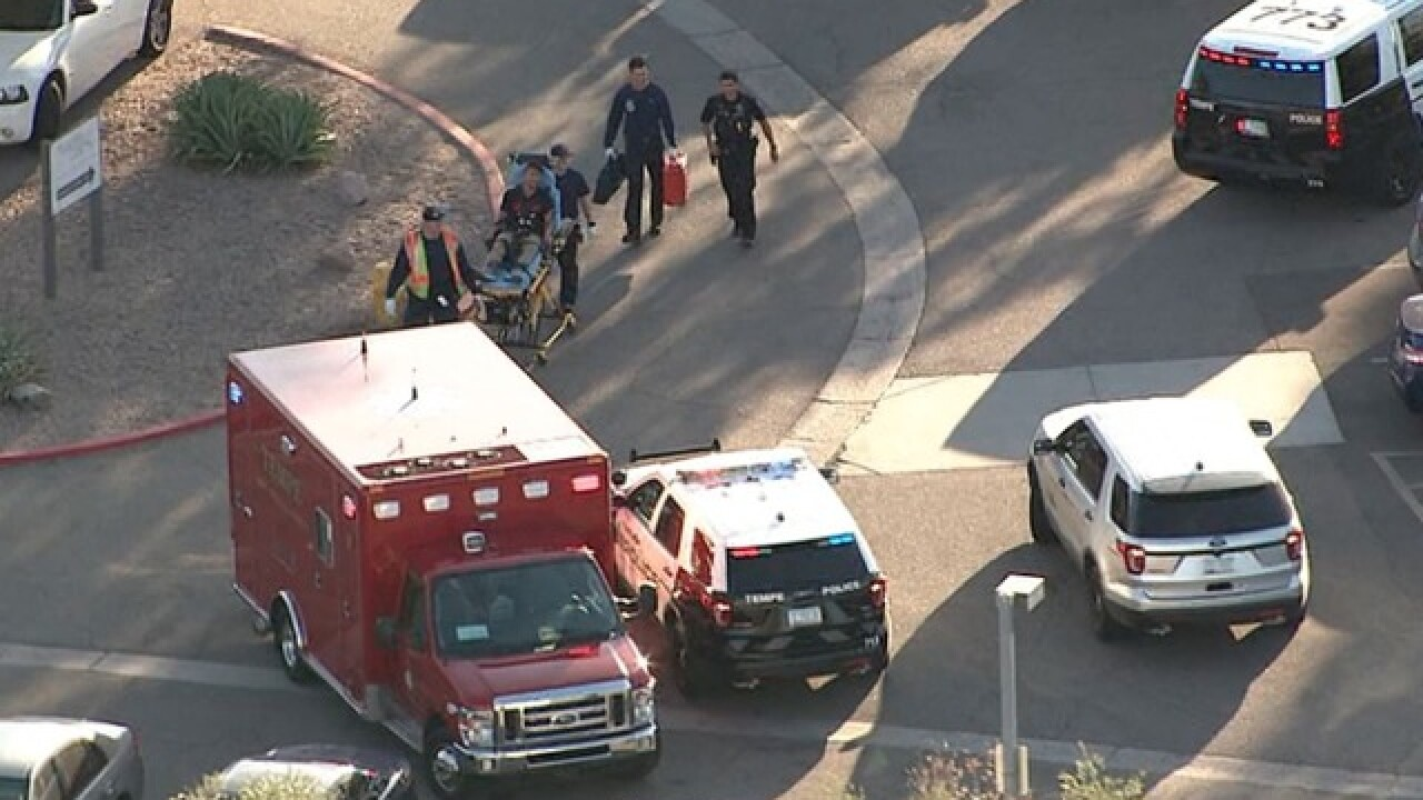 Police: Argument between man and woman leads to shooting in Tempe