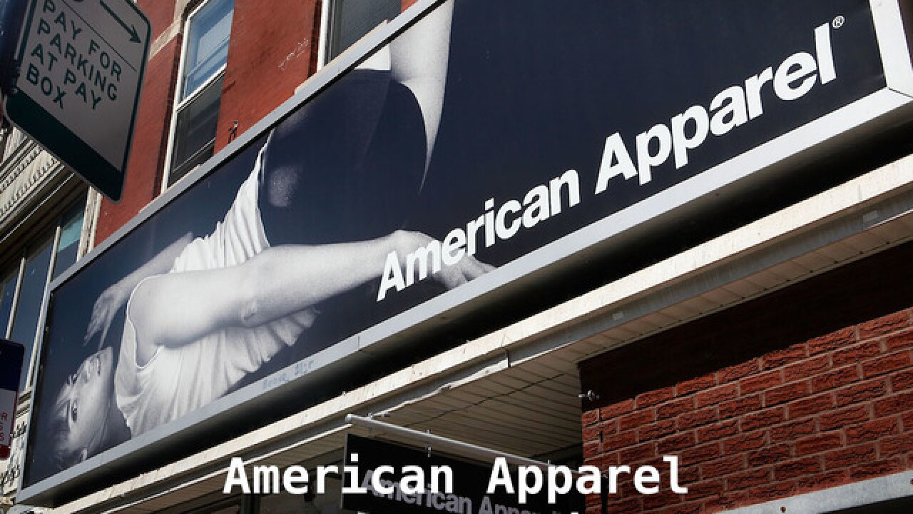 American Apparel is opening a store for the first time since bankruptcy