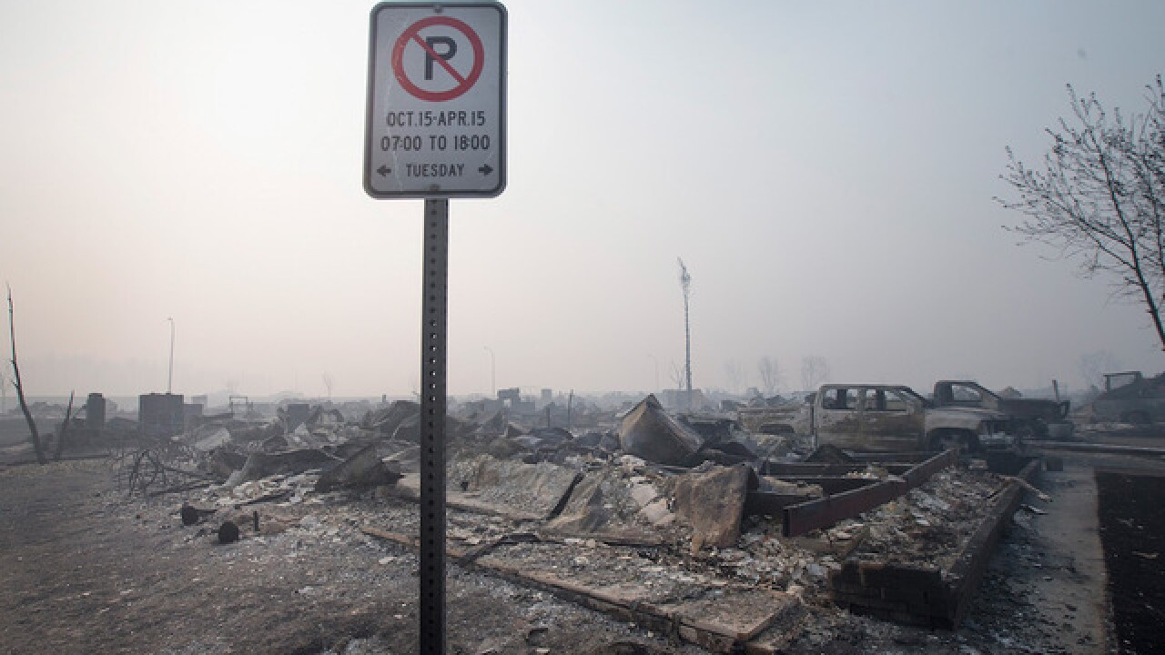 Canada wildfire: Massive evacuation under way; entire neighborhoods burned down; 80K evacuated