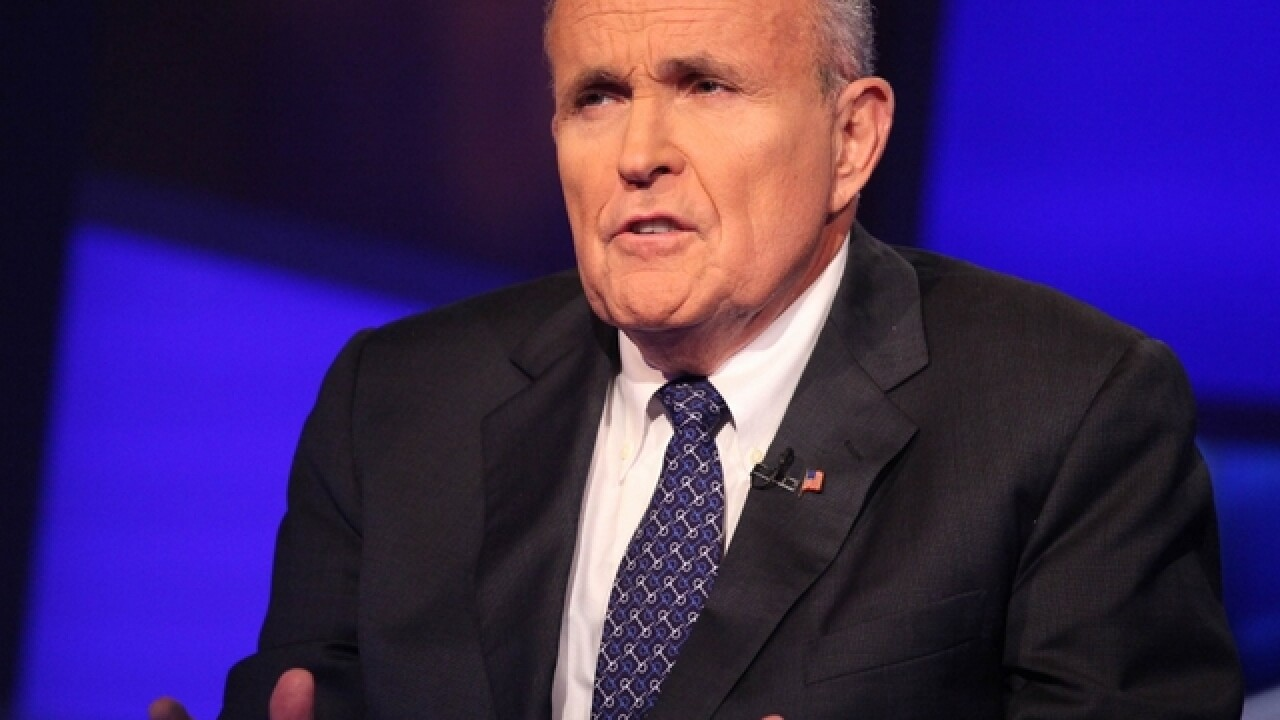 Rudy Giuliani will not get a Cabinet position, Trump says