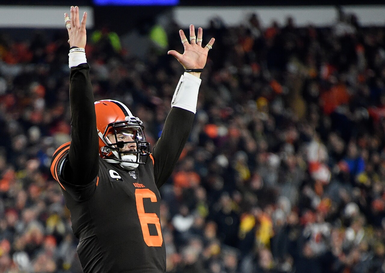 Pittsburgh Steelers v Cleveland Browns  Baker Mayfield