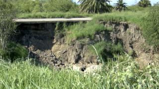 Early week rain worsens dam deterioration