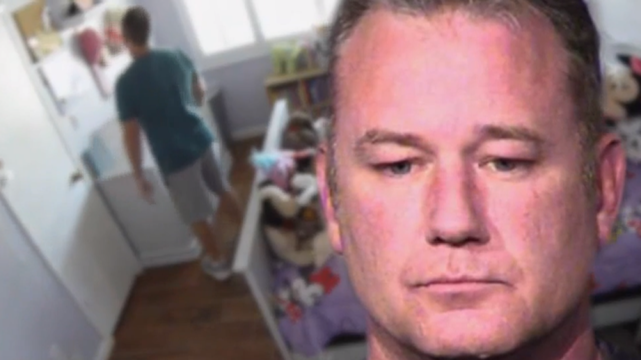 Nanny cam catches federal agent doing unimaginable in girl's bedroom