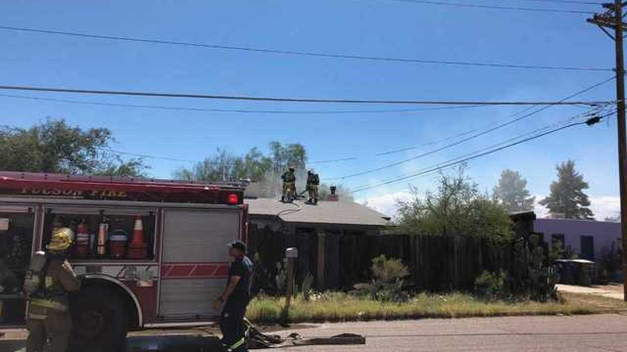 Crews put out house fire at vacant midtown home