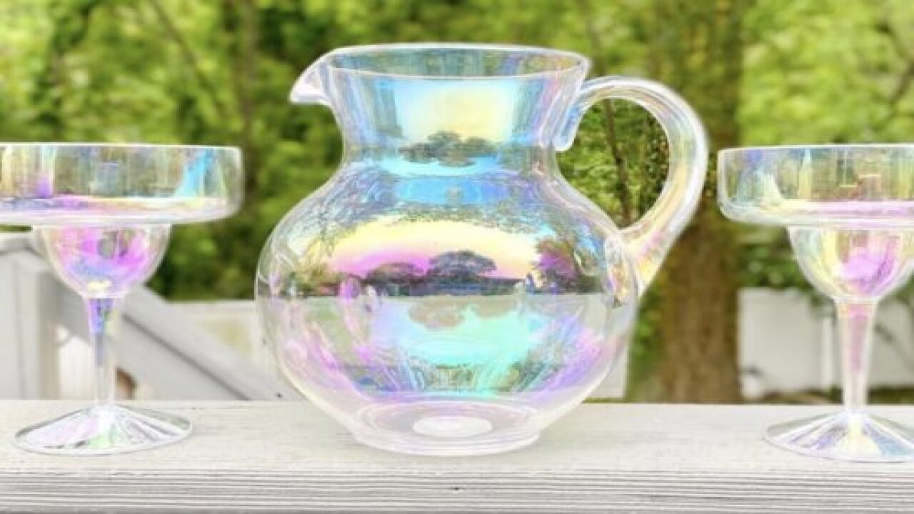 Whimsical Iridescent Drinkware Is Perfect For Summer Sipping