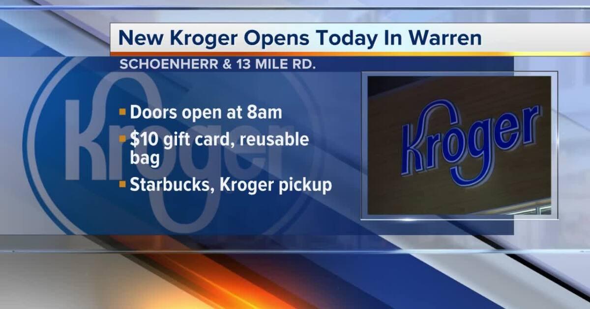 New $2.4M Kroger store now open in Warren