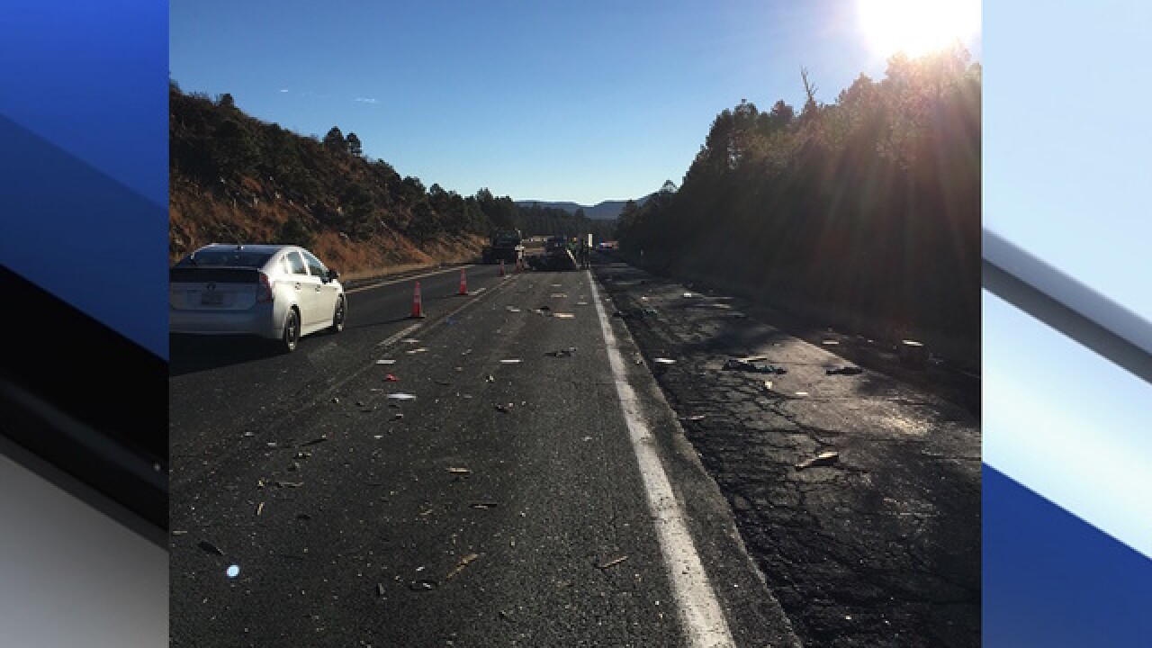DPS: 10-year-old killed in crash near Flagstaff involving tractor-trailer