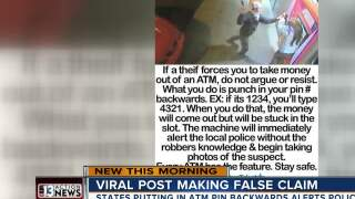 Police warn viral social media post gives false advice for robbery victims