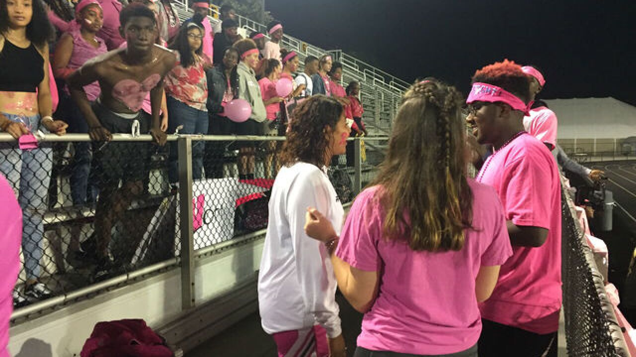 Warren Central athletics raises money for cancer research