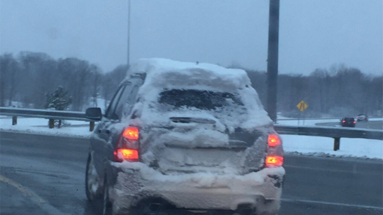The 7 sacred rules for driving in the snow in Northeast Ohio