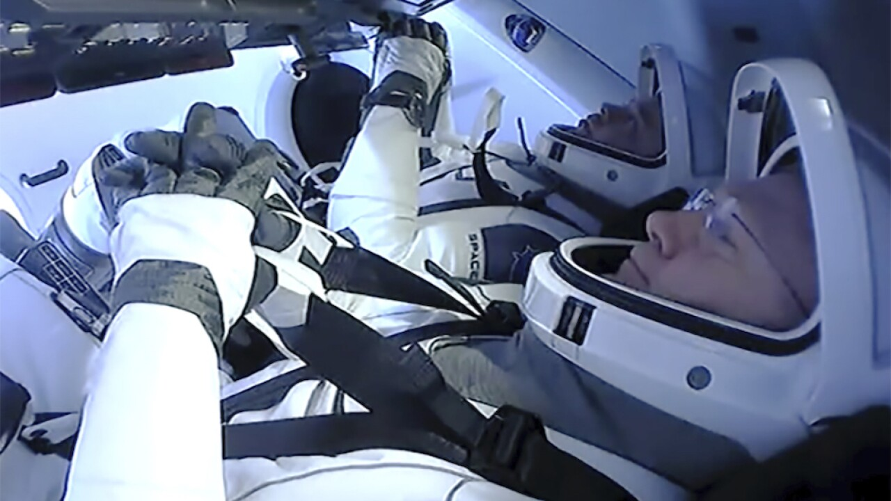 SpaceX bringing NASA astronauts home in first splashdown return in 45 years