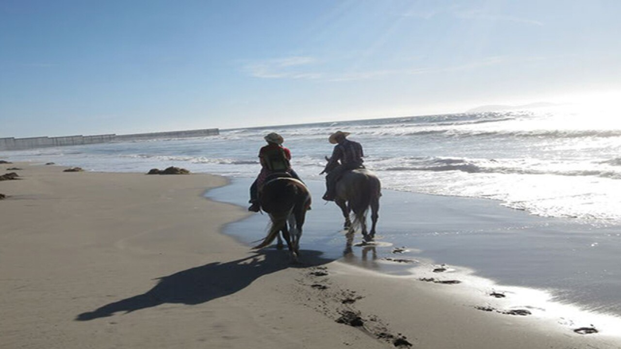 Exploring San Diego by horseback