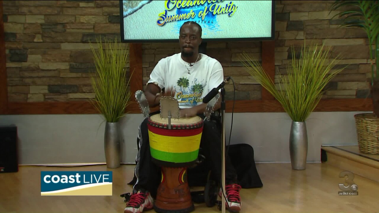 Getting ready for Ocean View's Summer of Unity Festival on CoastLive